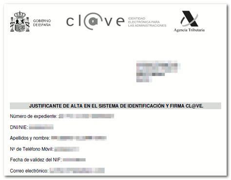 Registro por internet con CSV   Agencia Tributaria