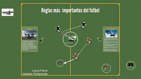 Reglas más importantes del fútbol by laura parra on Prezi