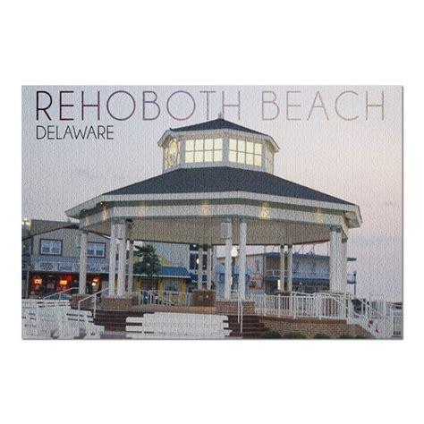 Rehoboth Beach, Delaware   Bandstand Twilight  20x30 ...