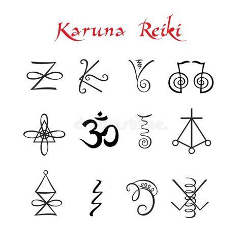 Reiki Healing Symbol And Healers Hands Stock Illustration ...
