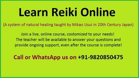 Reiki: Learn Reiki Online