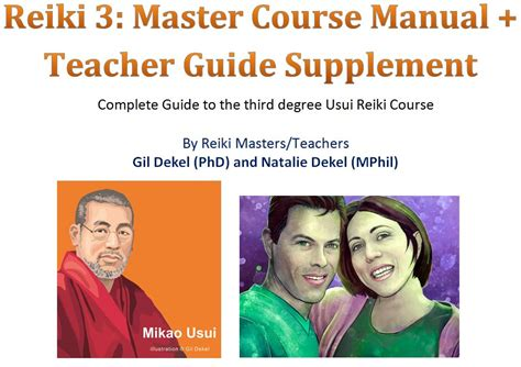 Reiki Master/Teacher  Level 3  Manual PDF   Payhip