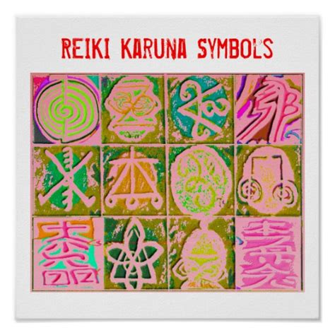 Reiki Symbols Posters, Reiki Symbols Wall Art
