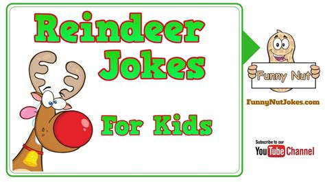 Reindeer Jokes For Kids. Jokes About Reindeer For ...