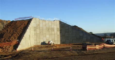 Reinforced Earth Panel Retaining Walls