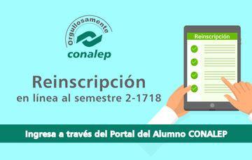 Reinscripción en Línea CONALEP | Colegio Nacional de ...