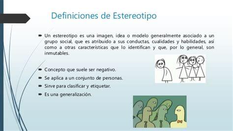 Relacion prejuicio estereotipo