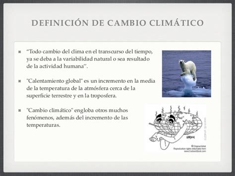 Relaciones Hombre Hidrosfera. El Cambio Climático.