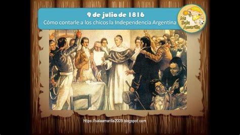 Relato para niños sobre la Declaración de la Independencia ...
