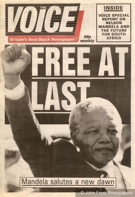 Release of Nelson Mandela