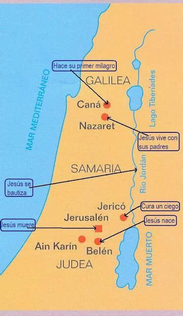 Religión C.E.I.P. Santa Teresa: Mapa de Palestina en ...