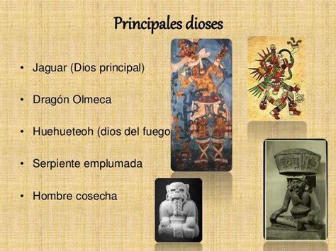 Religión de los olmecas: características y dioses   RESUMEN