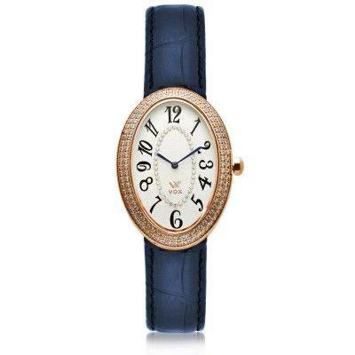 Relogio Feminino Louisville Caixa Metal Ovalado | Relógio ...