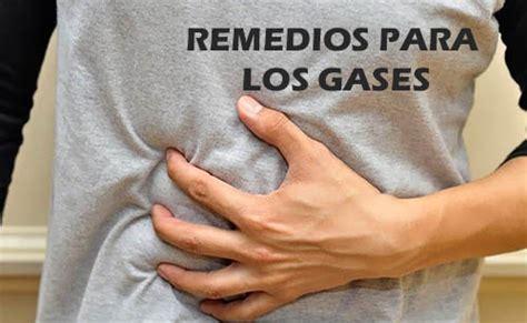 Remedios caseros para los gases
