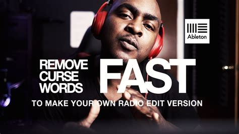Remove Curse Words From Your Tracks   Making curse free ...