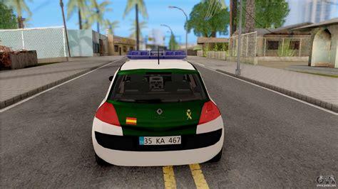 Renault Megane Guardia Civil Spanish para GTA San Andreas