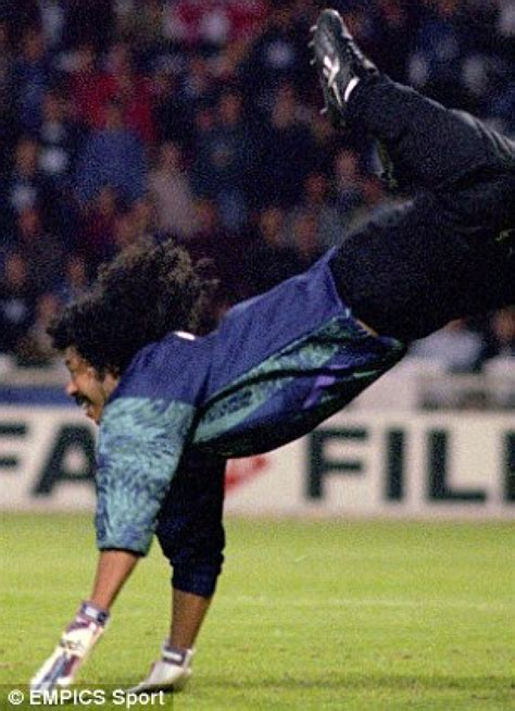 Rene Higuita –  The Boss  – video from  Keep it on the ...
