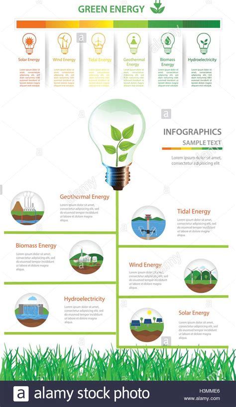 Renewable energy types. Power plant icons vector set ...
