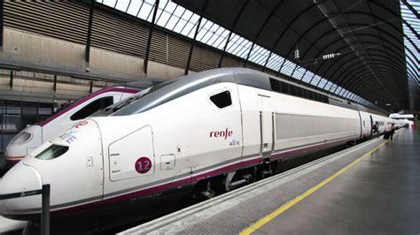 Renfe cancela 105 trenes Ave y Larga Distancia por la ...