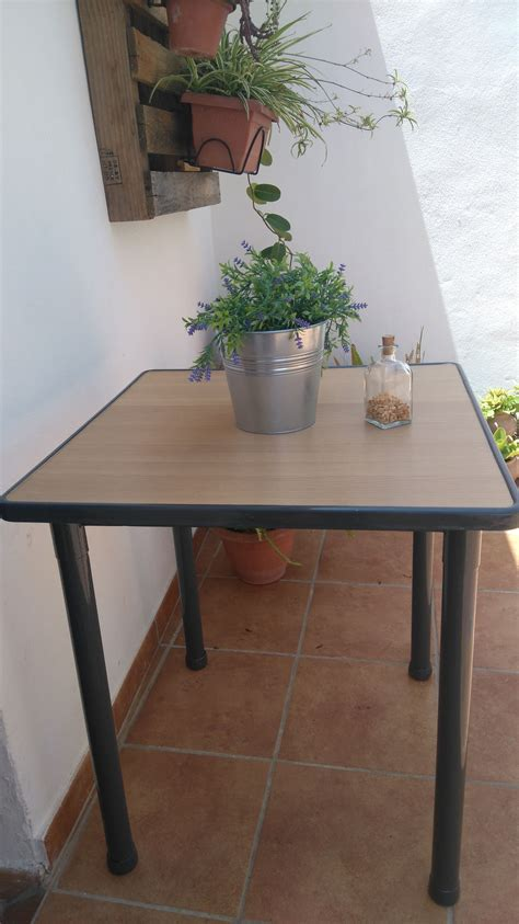 Renovar una mesa de terraza   Leroy Merlin