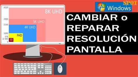 Reparar problemas con la resolución de pantalla en Windows ...