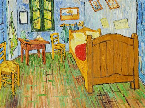 Replica of Van Gogh s Bedroom As Accommodation In Chicago ...