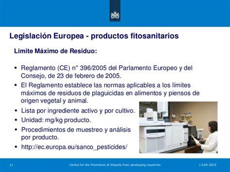 Requisitos de acceso al mercado europeo para frutas ...