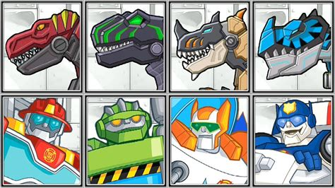 Rescue Bots + T Rex Corps   Full Game Play 1080 HD   YouTube