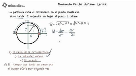 Resolución de ejercicio de movimiento circular uniforme ...