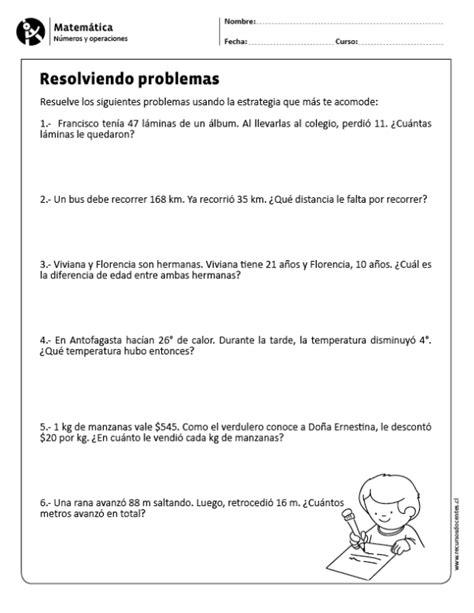 Resolviendo problemas | Matematicas tercer grado ...