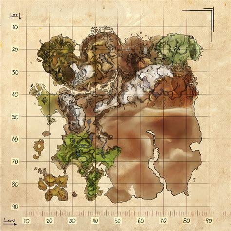 Resource Map  Ragnarok    Official ARK: Survival Evolved Wiki