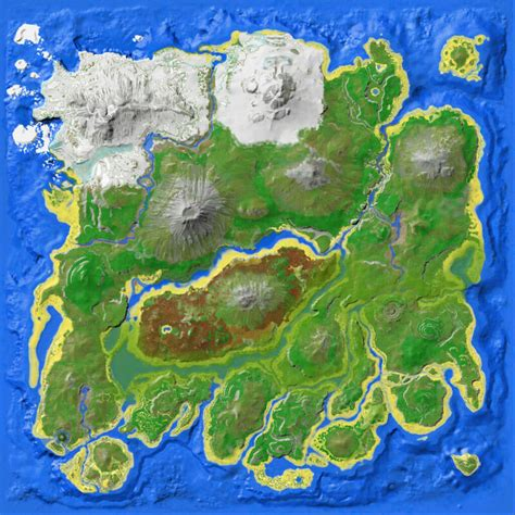 Resource Map  The Island    Official ARK: Survival Evolved ...