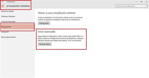 Restaurar Pantalla Inicio Windows 10   SEONegativo.com