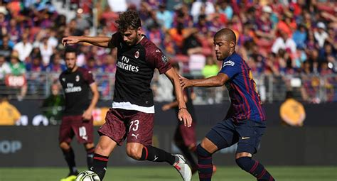 Resto del Mundo: Barcelona vs. AC Milan: ver goles ...