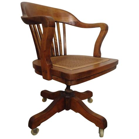 Restored Vintage Swivel Desk Chair By PAGE at 1stdibs