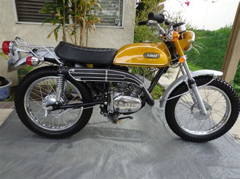 Restored Yamaha CT1 175 Enduro   1971 Photographs at ...