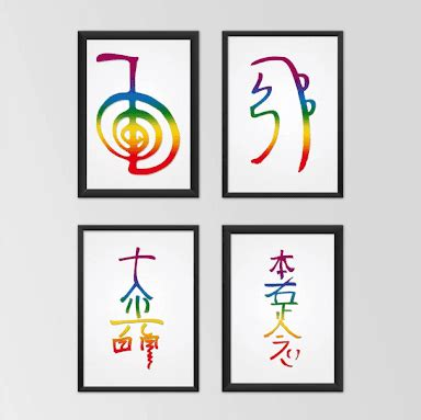 Resultado de imagem para simbolos de reiki usui para ...