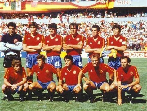 Resultado de imagen de ESPAÑA mundial 1986 | España futbol ...