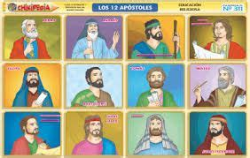 Resultado de imagen de los doce apostoles lamina ...