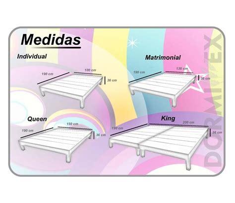 Resultado de imagen de medidas camas matrimoniales ...