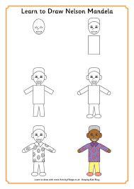 Resultado de imagen de nelson mandela crafts | Dibujos ...