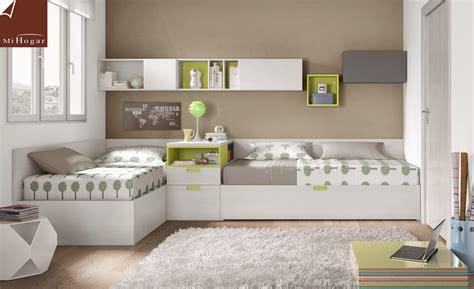 Resultado de imagen para camas en l juveniles | muebles ...