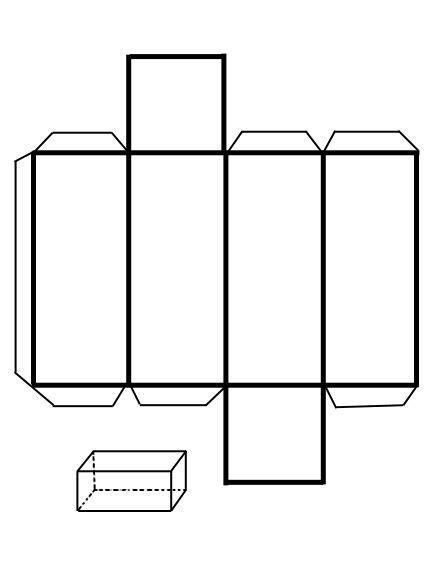 Resultado de imagen para figura de paralelepipedo para ...