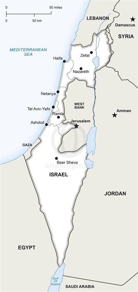 Resultado de imagen para mapa de israel para colorear ...