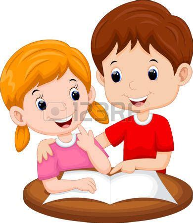 Resultado de imagen para niños estudiando animados ...
