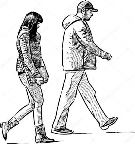 Resultado de imagen para personas caminando dibujo ...