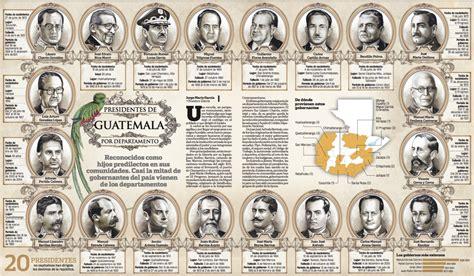 Resultado de imagen para presidentes de guatemala desde ...