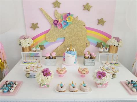 Resultado de imagen para unicorn party ideas | ideas ...