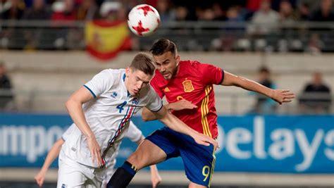 Resultado España   Islanda de hoy | Europeo Sub 21