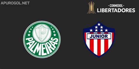 Resultado Final   Palmeiras 3 Junior 1   Copa Libertadores ...
